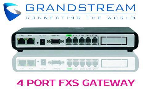 Grandstream GXW4004 UAE