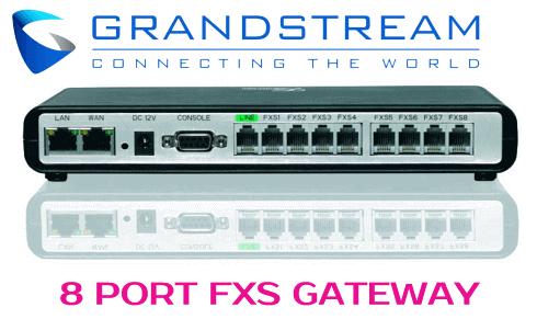 Grandstream GXW-4008 Dubai UAE
