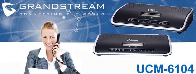 Grandstream UCM-6104 dubai