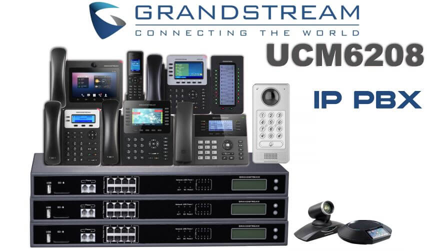 grandstream ucm6208 voip pbx
