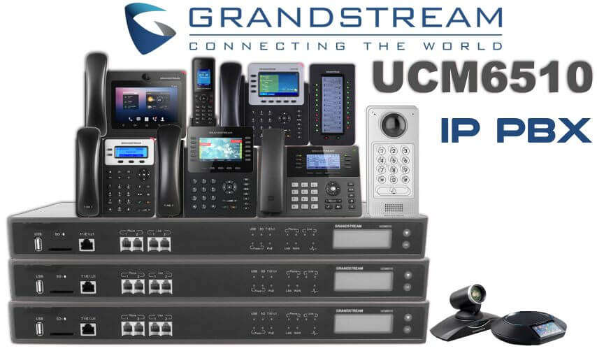 grandstream ucm6510 ip pbx