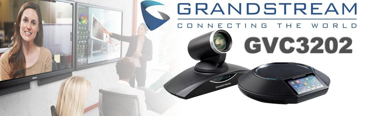 grandstream gvc3202 video conferencing